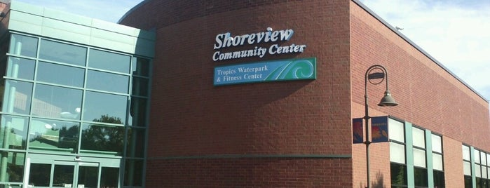 Shoreview Community Center is one of Locais salvos de Jenny.