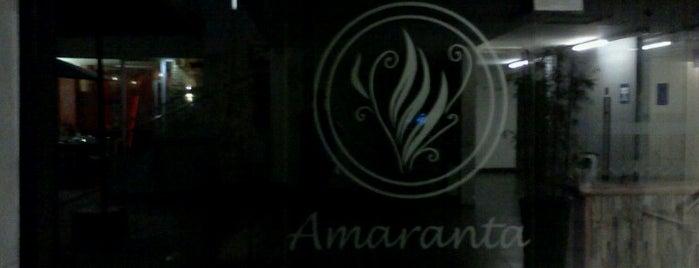Amaranta is one of Los buenos lugares!.