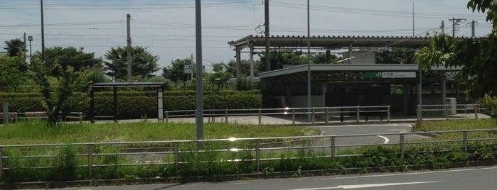 Jūō Station is one of JR 키타칸토지방역 (JR 北関東地方の駅).