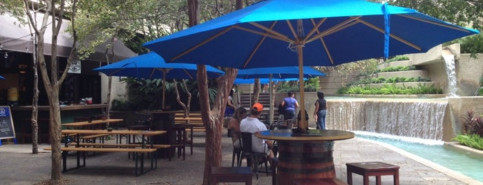 Bier Garten Riverwalk is one of Locais salvos de Ryan.
