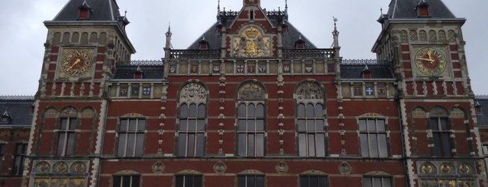 Amsterdam Hauptbahnhof is one of Amsterdam.