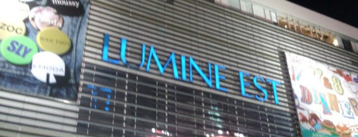 Lumine Est is one of Tokyo.