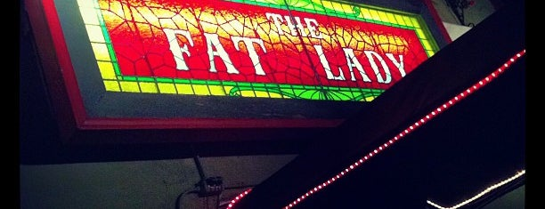 The Fat Lady Bar & Restaurant is one of San Francisco.