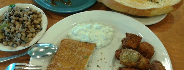 Luby's is one of dining favs.