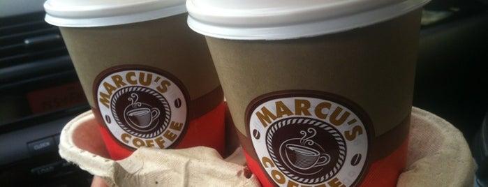 Marcu's Coffee is one of Lieux sauvegardés par Paul.
