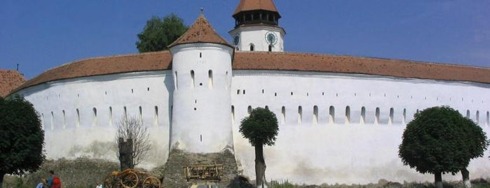 Biserica Fortificată Prejmer is one of UNESCO World Heritage Sites in Eastern Europe.