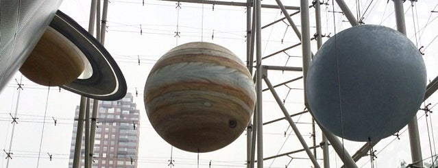 Hayden Planetarium is one of New York.
