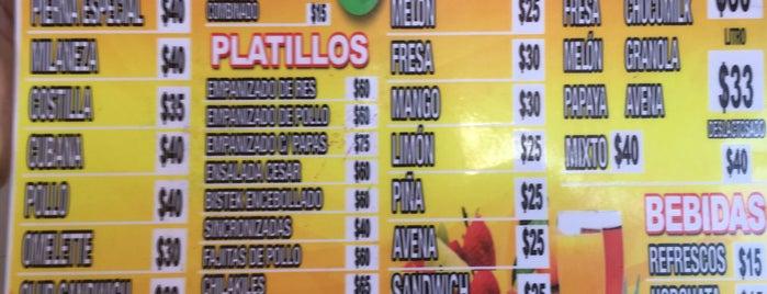 """Tacos y Tortas """"El Primo"""" is one of Lugares favoritos de Yes car rental."""