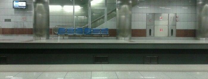 Halandri Metro Station is one of Lieux qui ont plu à Spiridoula.