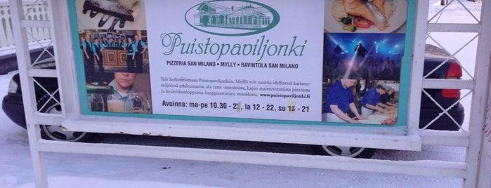 Puistopaviljonki is one of Orte, die Päivi gefallen.