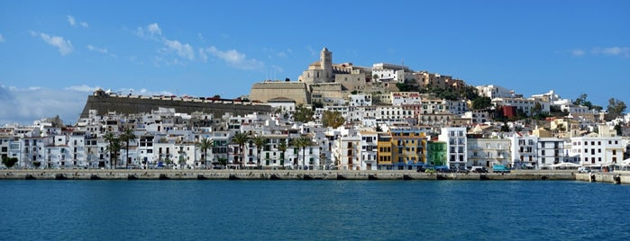 Marina Botafoc is one of Ibiza, baby!.