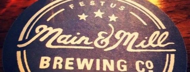 Main & Mill Brewing Company is one of Lake Wauwanoka.