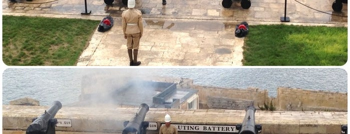 Saluting Battery is one of VISITAR Malta.