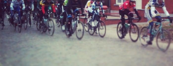Lippenhovestraat is one of Belgium / Events / Ronde van Vlaanderen 2019.