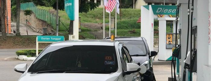 Petronas Durian Tunggal is one of สถานที่ที่ Yatie ถูกใจ.