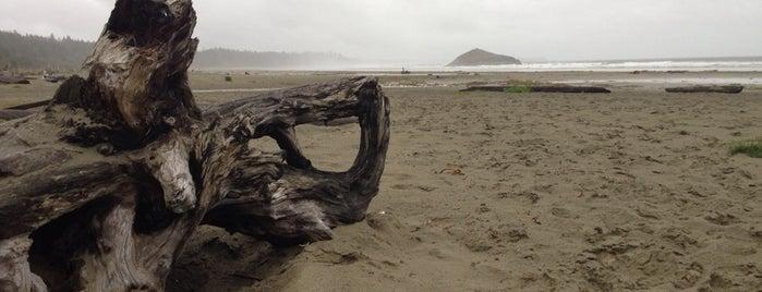 Long Beach is one of West Van Island.