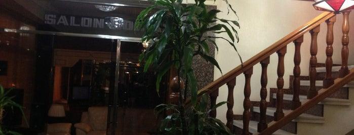 hotel cisne is one of Donde dormir en Cordoba.
