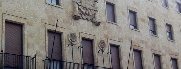 Gran Vía is one of Pasear en Salamanca.