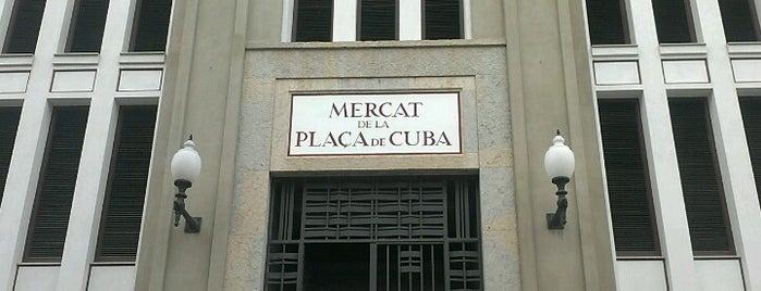 Mercat de la Plaça de Cuba is one of Places castelleres de nou.