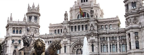 Plaza de Cibeles is one of Celebraciones deportivas.