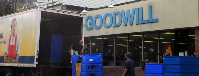 Goodwill is one of PA Shopping.