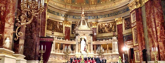 Basílica de San Esteban is one of Budapest City Guide.