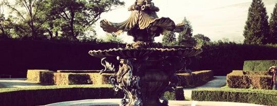 Zámecká zahrada Lednice is one of cyklovýlety.