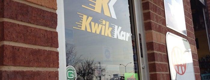Kwik Kar is one of Chris 님이 좋아한 장소.