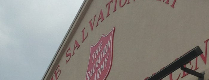 The Salvation Army Family Store is one of thifty.