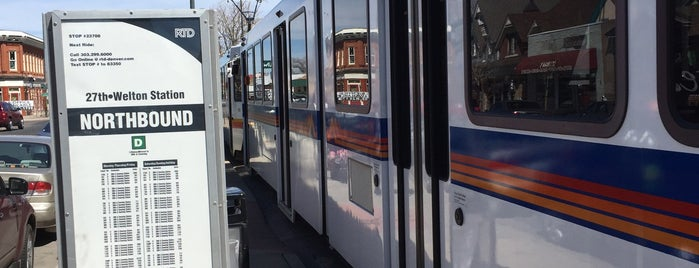 RTD - 27th & Welton Light Rail Station is one of Everywhere I've been in the Denver Metro.