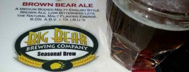 Big Bear Brewing Co. is one of Local.