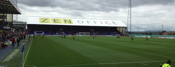 Boundary Park is one of Stadiums.