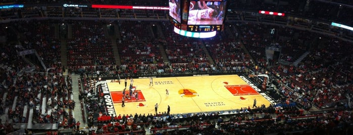 United Center is one of Big Ten Men's Basketball Arenas.