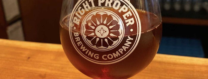 Right Proper Brewing Production House is one of Posti salvati di John.