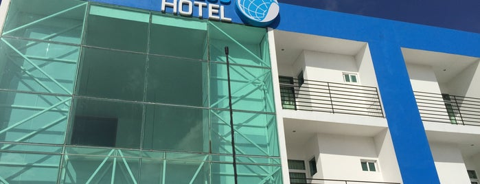 Hotel Global Express (nuevo) is one of Tempat yang Disukai Jorge.