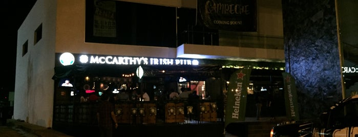 McCarthy's Irish Pub is one of Tempat yang Disukai Hector.
