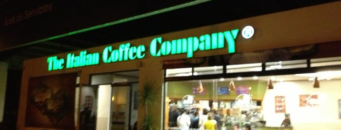 The Italian Coffee Company is one of Mexico // Cancun.