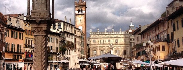 Piazza delle Erbe is one of Veneto best places.