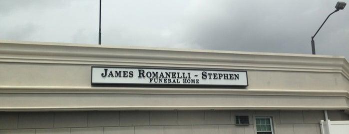 James Romanelli-Stephen Funeral Home is one of สถานที่ที่ Lizzie ถูกใจ.