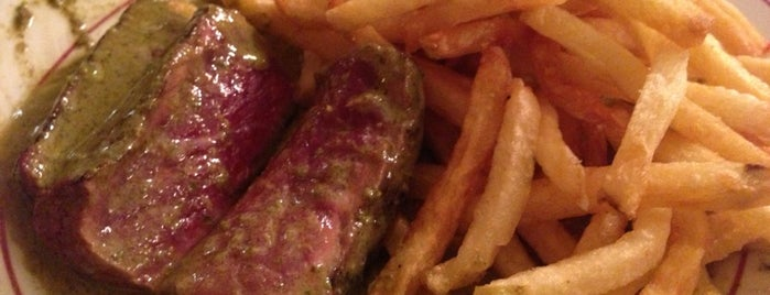 Le Relais de l'Entrecôte is one of Paris - best spots! - Peter's Fav's.