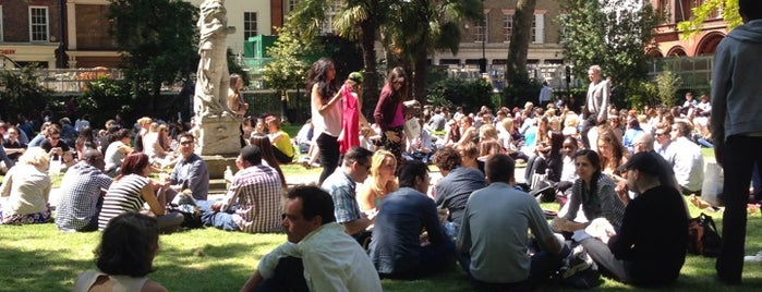 Soho Square is one of London.