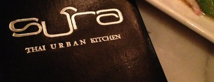 Sura Thai Kitchen is one of 2013 NYC Bib Gourmands.