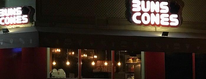 Buns & Cones is one of Tempat yang Disukai Saeed.
