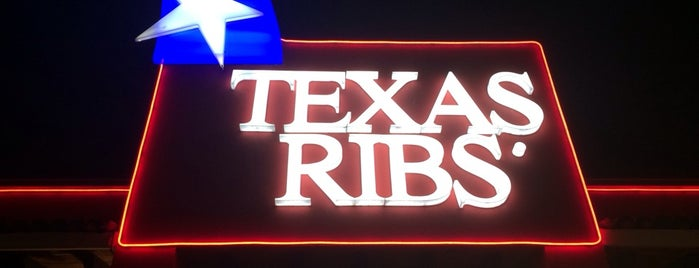 Texas Ribs is one of Locais curtidos por Natalia.