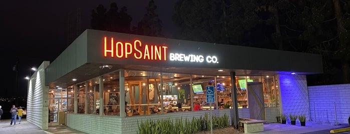 HopSaint Brewing Company is one of Brian : понравившиеся места.