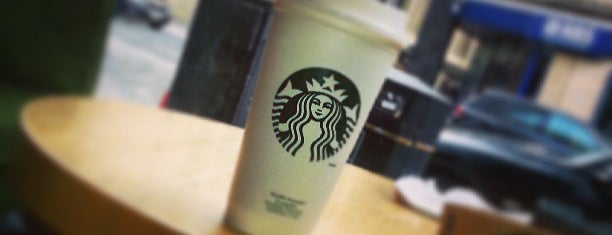 Starbucks is one of American Express - Venue list.