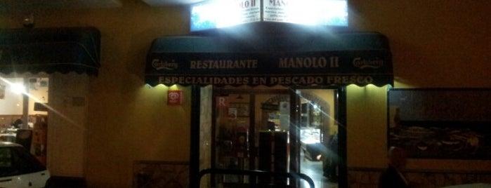 Restaurante Manolo II is one of Lugares guardados de Evgeny.