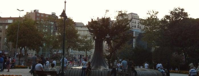 Taksim Gezi Parkı is one of Nice Parks in Istanbul.