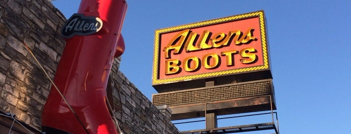 Allens Boots is one of Austin, TX.