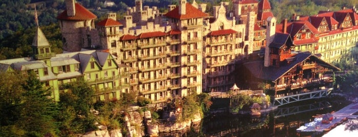 Mohonk Mountain House is one of USA: Hotels.
